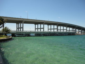 Blue Heron Bridge in West Palm Beach Florida